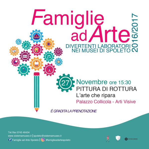 <!--:it-->Famiglie ad arte - Creiamo al museo<!--:--> @ Palazzo Collicola Arti Visive | Spoleto | Umbria | Italia