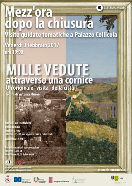 <!--:it-->Mezz'ora dopo la chiusura - MILLE VEDUTE ATTRAVERSO UNA CORNICE<!--:--><!--:en-->Mezz'ora dopo la chiusura - A THOUSAND VIEWS THROUGH A FRAME<!--:--> @ Palazzo Collicola Arti Visive | Spoleto | Umbria | Italia