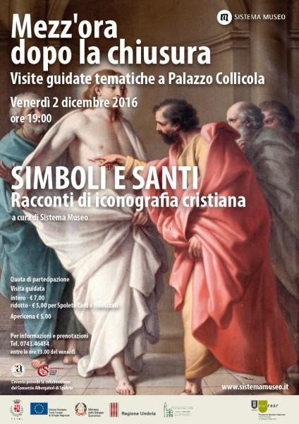 <!--:it-->Mezz'ora dopo la chiusura - SIMBOLI E SANTI, Racconti di iconografia cristiana<!--:--> @ Palazzo Collicola Arti Visive | Spoleto | Umbria | Italia