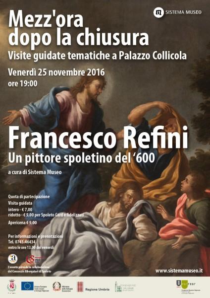 <!--:it-->Mezz'ora dopo la chiusura - FRANCESCO REFINI Un pittore spoletino del '600<!--:--> @ Palazzo Collicola Arti Visive | Spoleto | Umbria | Italia