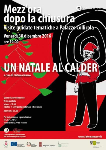 <!--:it-->Mezz'ora dopo la chiusura - UN NATALE AL CALDER<!--:--> @ Palazzo Collicola Arti Visive | Spoleto | Umbria | Italia