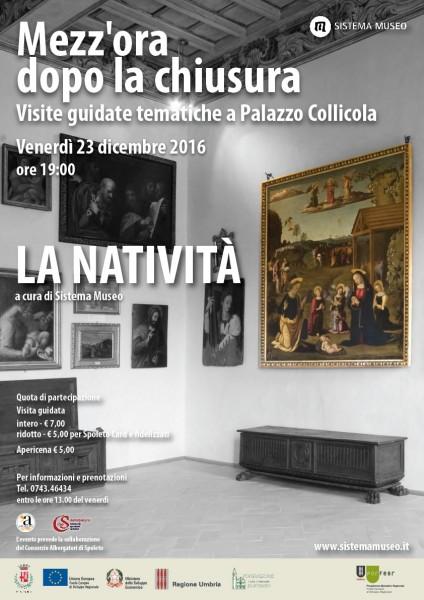 <!--:it-->Mezz'ora dopo la chiusura - LA NATIVITA'<!--:--> @ Palazzo Collicola Arti Visive | Spoleto | Umbria | Italia
