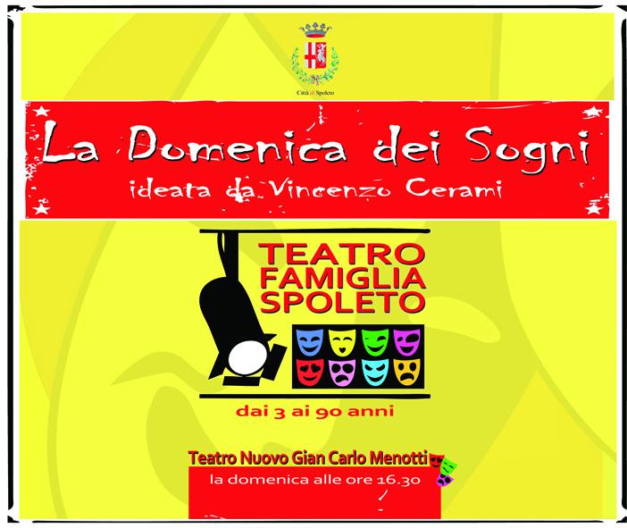 <!--:it-->La Domenica dei Sogni - Teatro Famiglia<!--:--> @ Teatro Nuovo Gian Carlo Menotti | Spoleto | Umbria | Italia