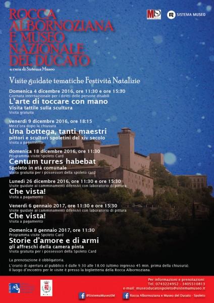 <!--:it-->Che vista! Visite guidate ai camminamenti difensivi della Rocca Albornoziana<!--:--> @ Rocca Albornoziana | Spoleto | Umbria | Italia
