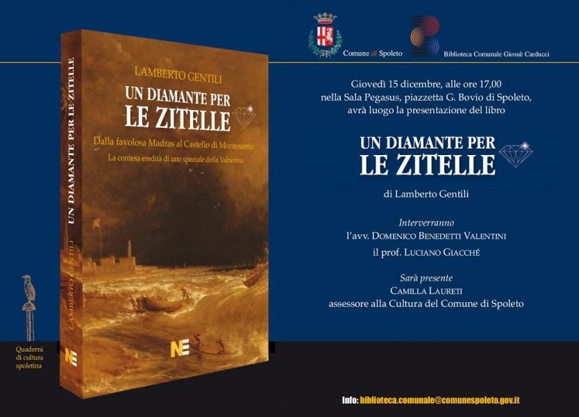 <!--:it-->Presentazione del libro UN DIAMANTE PER LE ZITELLE di Lamberto Gentili<!--:--> @ Sala Pegasus