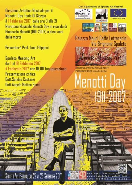 <!--:it-->Menotti Day - Maratona Musicale in ricordo di Gian Carlo Menotti a dieci anni dalla morte<!--:--> @ Caffè Letterario di Palazzo Mauri | Spoleto | Umbria | Italia