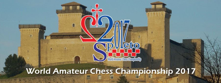 <!--:it-->Mondiale di Scacchi Amateur 2017<!--:--><!--:en-->2017 World Amateur Chess Championship <!--:--> @ Rocca Albornoziana | Spoleto | Umbria | Italia