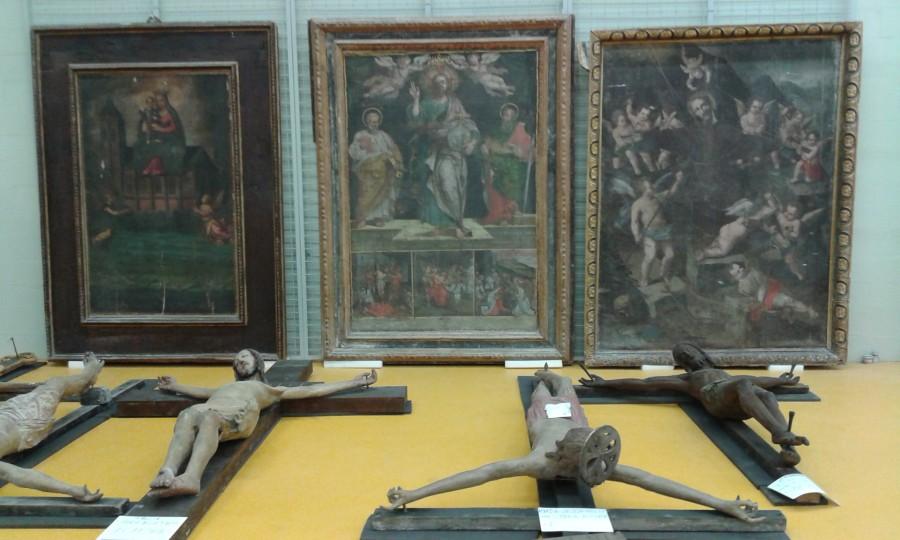 <!--:it-->Giornate FAI di Primavera 2017 - Apertura straordinaria del deposito dei beni culturali di Santo Chiodo<!--:--><!--:en-->SPRING DAYS OF FAI 2017 -  Extraordinary opening of the Santo Chiodo Works Of Art Depot <!--:--> @ Deposito Beni Culturali | Spoleto | Umbria | Italia