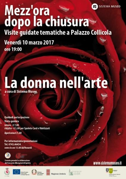 <!--:it-->Mezz'ora dopo la chiusura - La donna nell'arte<!--:--><!--:en-->Mezz'ora dopo la chiusura - Women in Art<!--:--> @ Palazzo Collicola | Spoleto | Umbria | Italia
