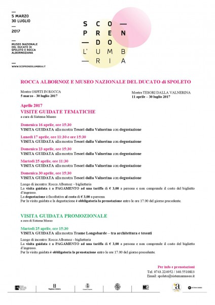 <!--:it-->Scoprendo l'Umbria - Visite guidate tematiche alla Rocca Albornoz<!--:--> @ Rocca Albornoz | Spoleto | Umbria | Italia