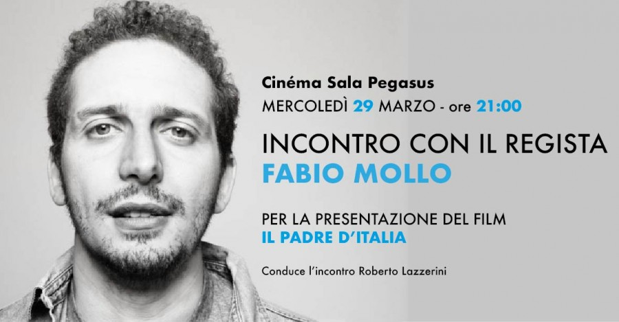 <!--:it-->Incontro con il regista Fabio Mollo<!--:--> @ Cinéma Sala Pegasus | Spoleto | Umbria | Italia