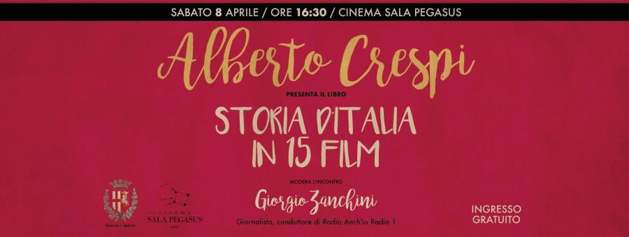 <!--:it-->Storia d'Italia in 15 film - Presentazione del libro di Alberto Crespi<!--:--> @ Sala Pegasus | Spoleto | Umbria | Italia