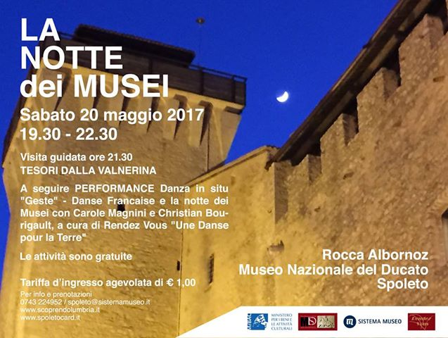 <!--:it-->#FESTADEIMUSEI - Rocca Albornoz - Museo Nazionale del Ducato<!--:--> @ Rocca Albornoz - Museo del Ducato di Spoleto
