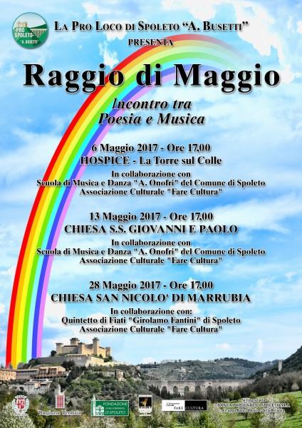 <!--:it-->RAGGIO DI MAGGIO - Incontri tra musica e poesia<!--:--> @ Chiesa dei SS. Giovanni e Paolo | Spoleto | Umbria | Italia