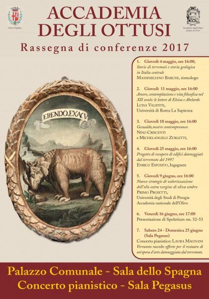 <!--:it-->Conferenze dell'Accademia degli Ottusi<!--:--><!--:en-->Conferences by the Academy of the Obtuses<!--:--> @ Palazzo Comunale - Sala dello Spagna | Spoleto | Umbria | Italia