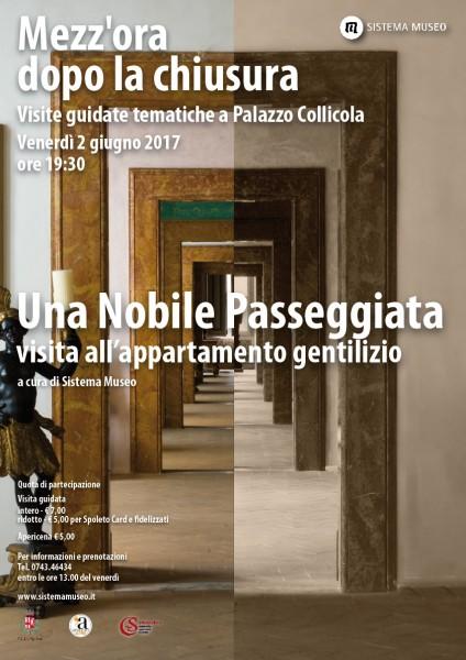<!--:it-->Mezz'ora dopo la chiusura - UNA NOBILE PASSEGGIATA<!--:--><!--:en-->Mezz'ora dopo la chiusura - A NOBLE PROMENADE<!--:--> @ Palazzo Collicola Arti Visive | Spoleto | Umbria | Italia