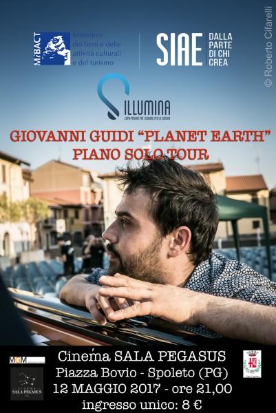 <!--:it-->Giovanni Guidi in concerto<!--:--> @ Cinéma Sala Pegasus | Spoleto | Umbria | Italia