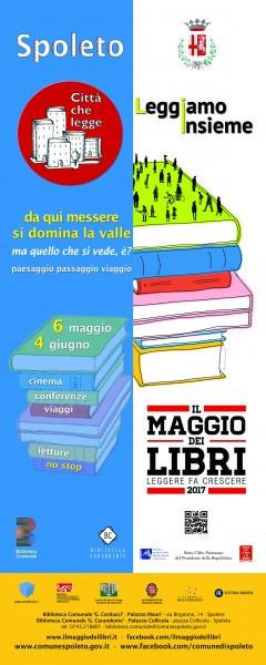 <!--:it-->IL MAGGIO DEI LIBRI 2017<!--:--> @ Spoleto | Spoleto | Umbria | Italia