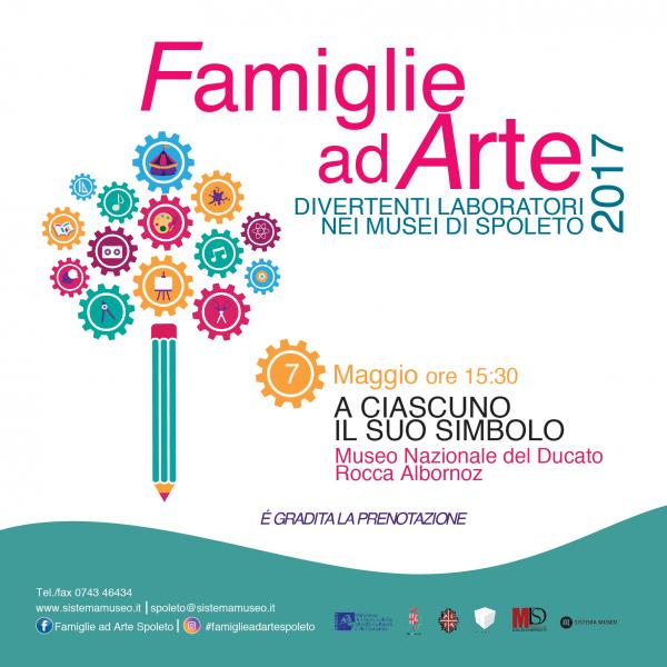 <!--:it-->Famiglie ad Arte – Creiamo al Museo / A ciascuno il suo simbolo<!--:--> @ Rocca Albornoz | Spoleto | Umbria | Italia
