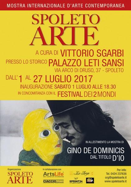 <!--:it-->Spoleto Arte - Mostra d'arte internazionale a cura di Vittorio Sgarbi<!--:--> @ Palazzo Leti Sansi | Spoleto | Umbria | Italia