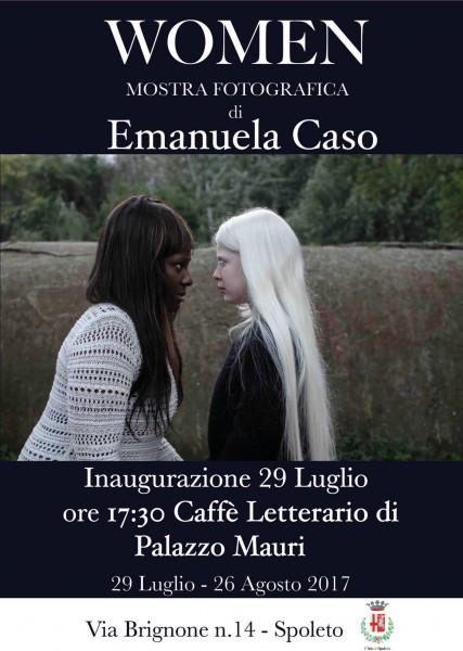 <!--:it-->WOMEN - mostra fotografica a cura di Emanuela Caso<!--:--><!--:en-->WOMEN - Photographic exhibition by Emanuela Caso<!--:--> @ Caffè Letterario di Palazzo Mauri | Spoleto | Umbria | Italia