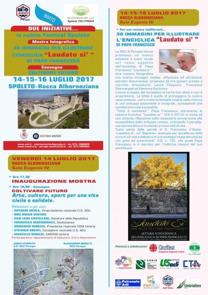 <!--:it-->LAUDATO SI - 30 immagini per illustrare l'Enciclica di Papa Francesco <!--:--><!--:en-->LAUDATO SI' - 30 images to illustrate pope Francis' Encyclical <!--:--> @ Rocca Albornoziana - Sala Eugenio IV | Spoleto | Umbria | Italia
