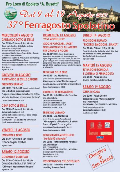 <!--:it-->37° Ferragosto Spoletino<!--:--><!--:en-->37th Ferragosto Spoletino<!--:--> @ Spoleto