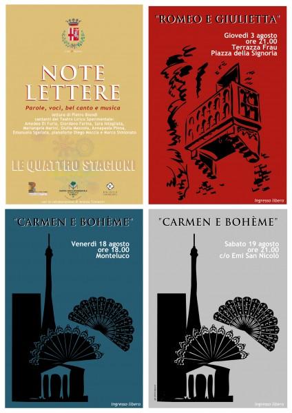 <!--:it-->NOTE LETTERE - Parole, Voci, Belcanto e Musica<!--:--><!--:en-->NOTES AND LETTERS, KNOWN LETTERS - Words, Voices, Belcanto and Music<!--:--> @ Monteluco - prato | Monteluco | Umbria | Italia
