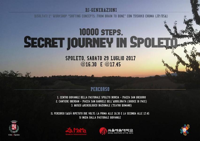 <!--:it-->RI_GENERAZIONI - 10.000 STEPS , SECRET JOURNEY IN SPOLETO<!--:--> @ Spoleto