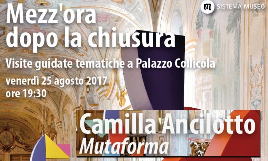 <!--:it-->Mezz'ora dopo la chiusura - MUTAFORMA / Camilla Ancillotto<!--:--><!--:en-->Mezz'ora dopo la chiusura - MUTAFORMA / Camilla Ancillotto<!--:--> @ Palazzo Collicola Arti Visive | Spoleto | Umbria | Italia