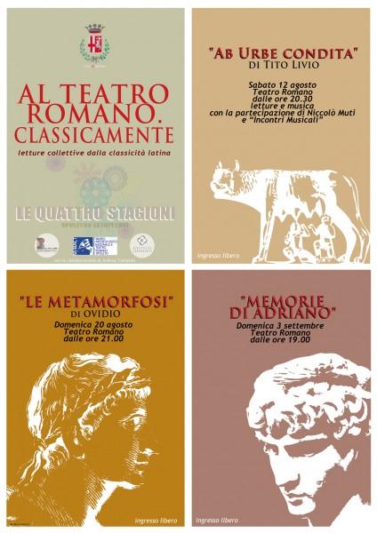 <!--:it-->AL TEATRO ROMANO - CLASSICAMENTE <!--:--><!--:en-->ROMAN THEATRE - CLASSICALLY<!--:--> @ Teatro Romano | Spoleto | Umbria | Italia