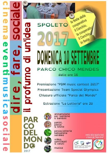 <!--:it-->Dire, fare, sociale. Il profumo di un'idea - Festa della Cooperativa Il Cerchio<!--:--> @ Parco Chico Mendes | Spoleto | Umbria | Italia