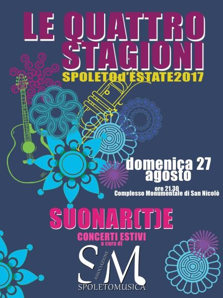 <!--:it-->Suonar(t)e - terzo appuntamento<!--:--><!--:en-->Suonar(t)e - Concert<!--:--> @ Complesso Monumentale di San NIcolò | Spoleto | Umbria | Italia