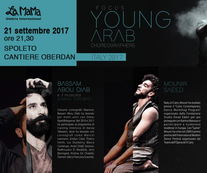 <!--:it-->Focus Young Arab Choreographers<!--:--><!--:en-->Focus Young Arab Choreographers<!--:--> @ Cantiere Oberdan | Spoleto | Italia