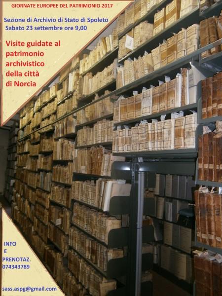 <!--:it-->GIORNATE EUROPEE DEL PATRIMONIO all'Archivio di Stato<!--:--> @ Archivio di Stato | Spoleto | Umbria | Italia