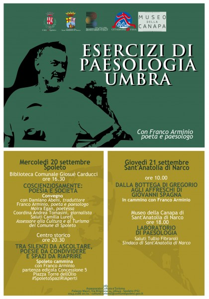 <!--:it-->ESERCIZI DI PAESOLOGIA UMBRA - Con Franco Arminio, poeta e paesologo<!--:--><!--:en-->EXERCISES OF VILLAGE STORYTELLING IN UMBRIA - With Franco Arminio, poet and village storyteller <!--:--> @ Spoleto