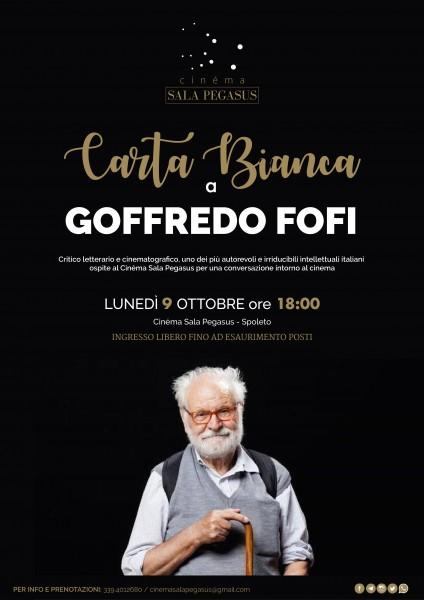 <!--:it-->Carta Bianca a Goffredo Fofi<!--:--><!--:en-->Meet Goffredo Fofi at Sala Pegasus<!--:--> @ Sala Pegasus | Spoleto | Umbria | Italia