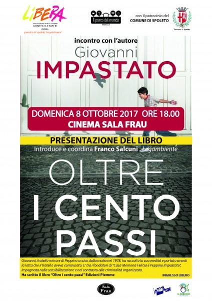 <!--:it-->Dalla lotta di Peppino Impastato negli anni Settanta alla mafia 2.0 - Incontro pubblico con Giovanni Impastato<!--:--> @ Cinema Sala Frau | Spoleto | Umbria | Italia