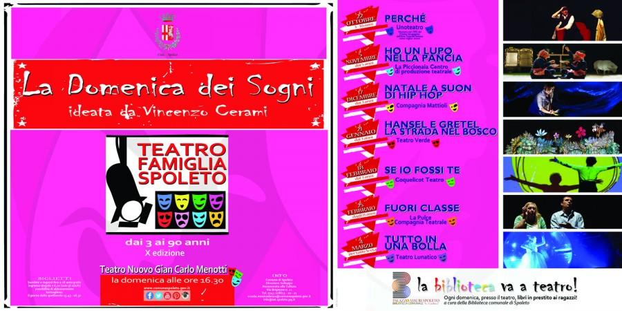 <!--:it-->LA DOMENICA DEI SOGNI - Teatro Famiglia<!--:--><!--:en-->LA DOMENICA DEI SOGNI - Theatre for families<!--:--> @ Teatro Nuovo Gian Carlo Menotti | Spoleto | Umbria | Italia