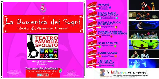 <!--:it-->Incontri di mediazione ed educazione teatrale<!--:--> @ Biblioteca Comunale G. Carducci | Spoleto | Umbria | Italia