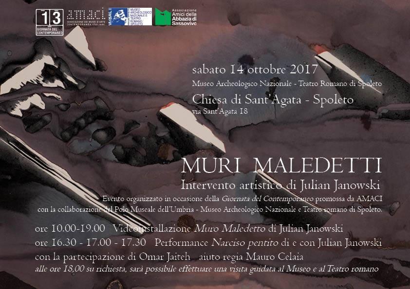 <!--:it-->AMACI - XIII Giornata del Contemporaneo<!--:--> @ Chiesa di Sant'Agata | Spoleto | Umbria | Italia