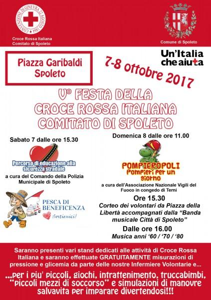 <!--:it-->5° edizione della Festa della Croce Rossa Italiana<!--:--> @ Piazza Garibaldi | Spoleto | Umbria | Italia