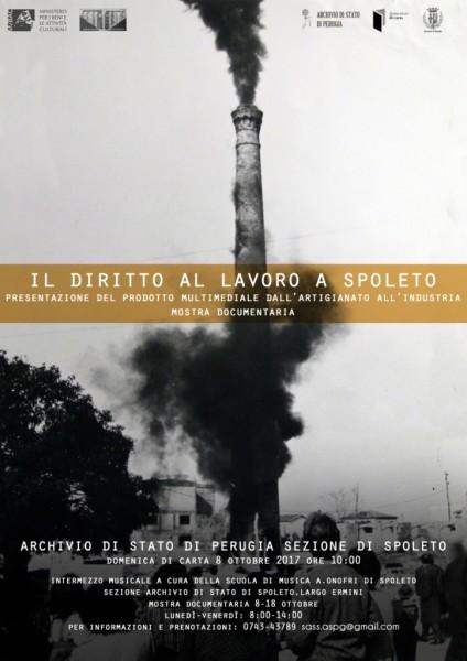 <!--:it-->Il diritto al lavoro a Spoleto, dall'artigianato all'impresa - Incontro e mostra documentaria<!--:--> @ Archivio di Stato sez. Spoleto | Spoleto | Umbria | Italia