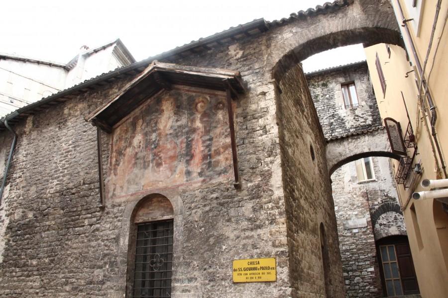 <!--:it-->Visite guidate alla Chiesa dei SS. Giovanni e Paolo<!--:--> @ Chiesa dei SS. Giovanni e Paolo | Spoleto | Umbria | Italia