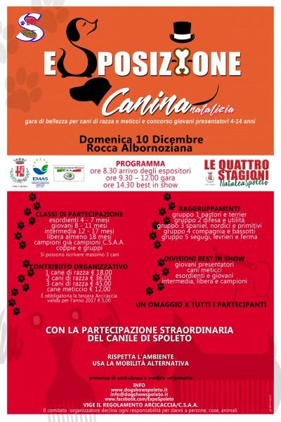 <!--:it-->Esposizione canina natalizia<!--:--><!--:en-->Christmas Dog Show<!--:--> @ Rocca Albornoz | Spoleto | Umbria | Italia