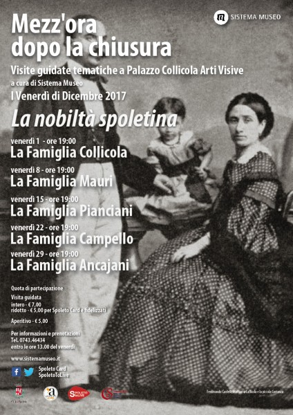 <!--:it-->Mezz'ora dopo la chiusura - LA FAMIGLIA COLLICOLA<!--:--> @ Palazzo Collicola Arti Visive | Spoleto | Umbria | Italia