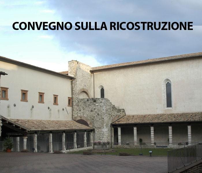 <!--:it-->Convegno sulla ricostruzione post terremoto<!--:--><!--:en-->Post-earthquake reconstruction conference<!--:--> @ Complesso monumentale di San Nicolò | Spoleto | Umbria | Italia