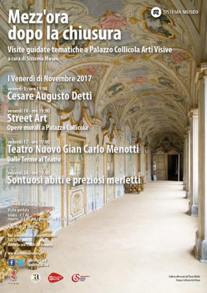<!--:it-->Mezz'ora dopo la chiusura - Teatro Nuovo Gian Carlo Menotti, dalle terme al teatro<!--:--> @ Palazzo Collicola | Spoleto | Umbria | Italia