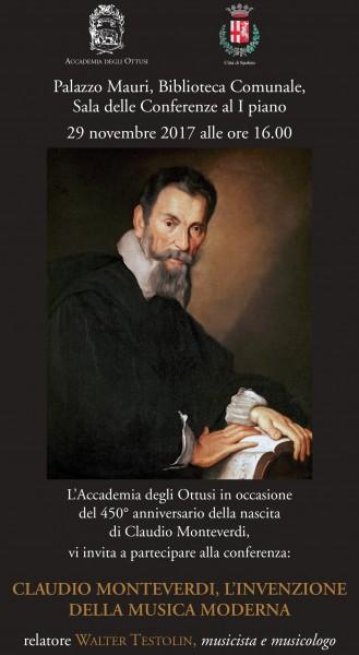 <!--:it-->Claudio Monteverdi, l'invenzione della musica moderna<!--:--><!--:en-->Claudio Monteverdi, the invention of modern music<!--:--> @ Palazzo Mauri, Biblioteca comunale Sala delle Conferenze 1° piano | Spoleto | Umbria | Italia