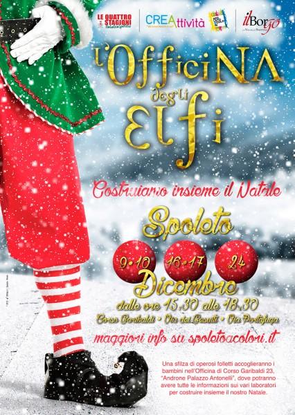 <!--:it-->L'OFFICINA DEGLI ELFI – Costruiamo insieme il Natale<!--:--> @ Androne Palazzo Antonelli | Spoleto | Umbria | Italia